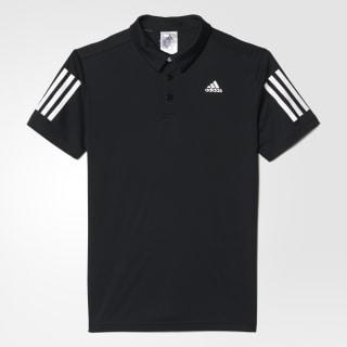 Футболка-поло для тенниса Club black / white BJ8235