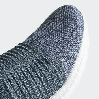 f1016e259 Ultraboost Laceless Parley Shoes Raw Grey   Carbon   Blue Spirit CM8271