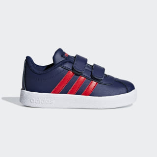VL Court 2.0 Shoes Dark Blue / Active Red / Ftwr White F36400