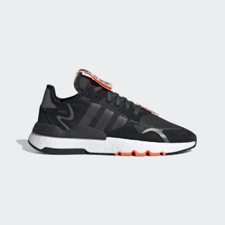 Nite Jogger Shoes Core Black / Cloud White / Hi-Res Orange EG2204