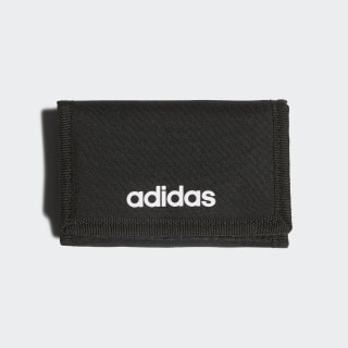 Linear Logo Wallet Black / Black / White FL3650