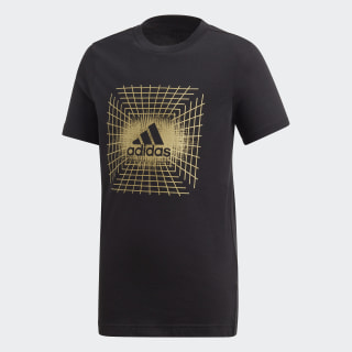 Polera ID Metallic Black ED6439