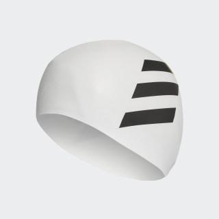 Cuffia da nuoto 3-Stripes White / Black FJ4968