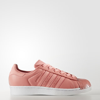 Superstar 80s Shoes Tactile Rose / Tactile Rose / Cloud White BY9750