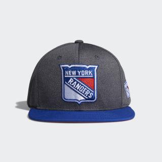 Rangers Snapback Heathered Grey Hat Multi CY0479