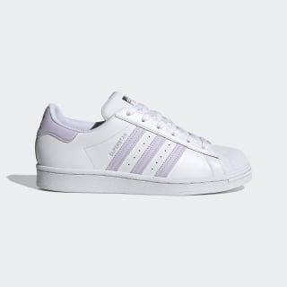 Superstar Shoes Cloud White / Purple Tint / Silver Metallic FV3374
