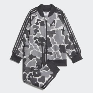 Camo Trefoil SST Track Suit Multicolor / Carbon D96093