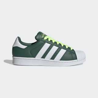Superstar Shoes Collegiate Green / Cloud White / Hi-Res Yellow BD7419