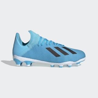 Bota de fútbol X 19.3 césped artificial Bright Cyan / Core Black / Shock Pink EF7550