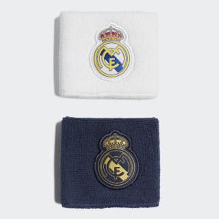 Real Madrid Schweißbänder Night Indigo / White / Black / Dark Football Gold DY7709