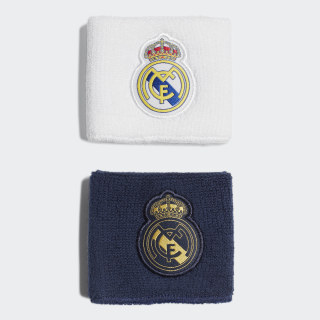 Real Madrid svedbånd Night Indigo / White / Black / Dark Football Gold DY7709