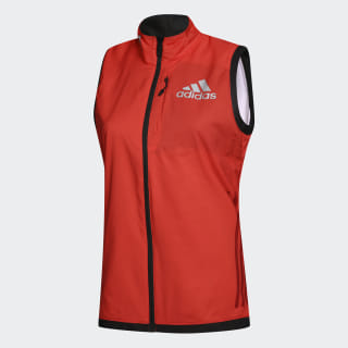 Ветровка ATH VEST W CH bright red / power red / noc russia CE2979