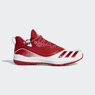 Icon V Turf Shoes Power Red / Power Red / Cloud White G28298