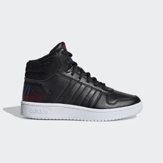 Chaussure Hoops 2.0 Mid Core Black / Core Black / Active Red EE8547