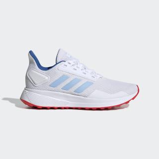 Tênis Duramo 9 K ftwr white/glow blue/active red EE6916