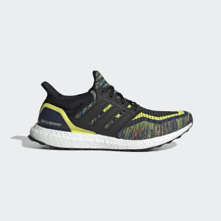 Ultraboost Multicolor Shoes Collegiate Navy / Core Black / Shock Yellow EG8106