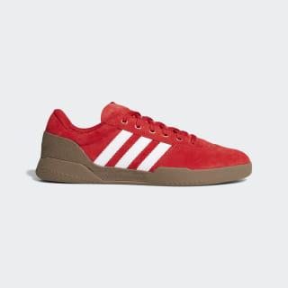 City Cup Shoes Scarlet / Cloud White / Gum F36855