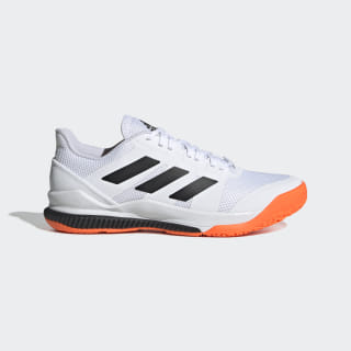 Stabil Bounce Shoes Cloud White / Core Black / Solar Orange EF0206