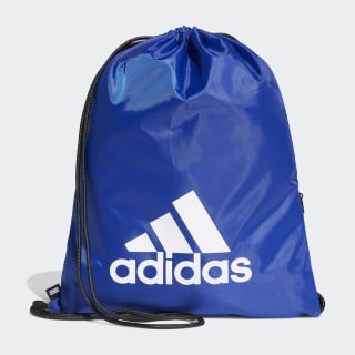 Bolsa Gym Bag Tiro bold blue / white DU2008