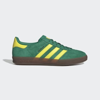Gazelle Indoor Shoes Bold Green / Bright Yellow / Gum5 EE5736