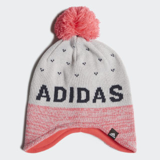 Graphic Peruvian Beanie Grey Two / Real Pink / Collegiate Navy ED8628