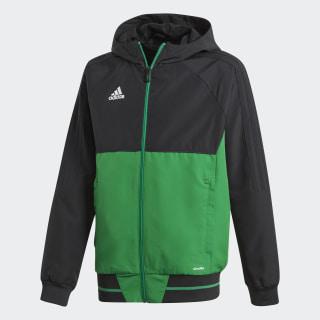 Tiro 17 Presentation Jacket Black/Green/White BQ2788