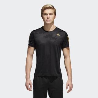 Camiseta Response BLACK/GOLD MET. CF2100