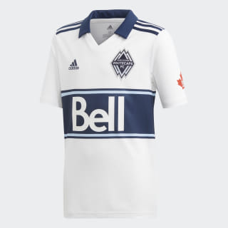 Vancouver Whitecaps FC Jersey White / Deep Sea DP4810