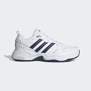 Strutter Schuh Cloud White / Dark Blue / Matte Silver EG2654