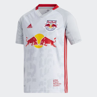 New York Red Bulls Home Jersey Clear Onix / Red GE5913