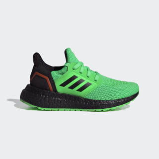 Ultraboost 20 Shoes Shock Lime / Core Black / Solar Orange EG4825