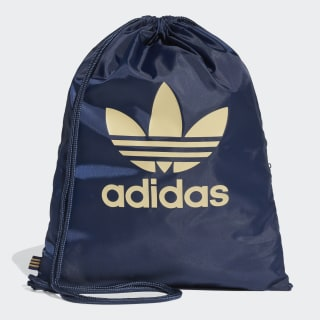 Trefoil Gym Sack Collegiate Navy / Raw Sand DV2389