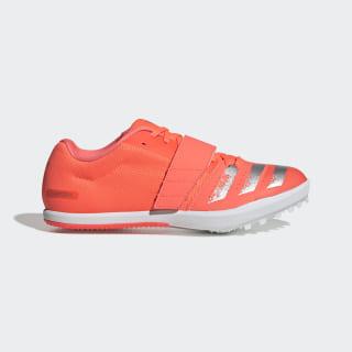Zapatilla de atletismo Jumpstar Signal Coral / Silver Metallic / Cloud White EE4672