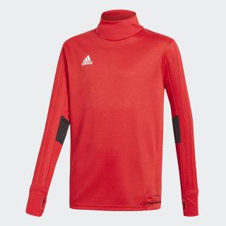 Camiseta entrenamiento Tiro 17 Scarlet/Black/White BQ2754