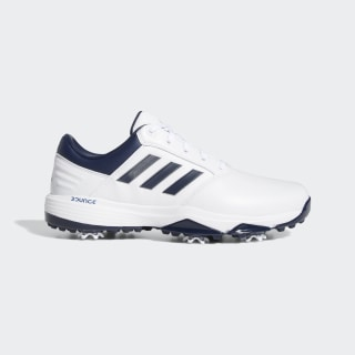 360 Bounce 2.0 Golf Shoes Cloud White / Collegiate Navy / Silver Metallic EE9113
