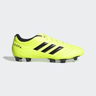 Calzado De Fútbol Para Pasto Natural Copa 19.4 Solar Yellow / Core Black / Solar Yellow F35499