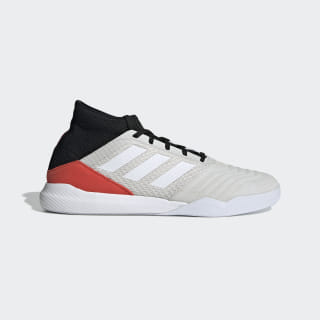 Zapatillas de Fútbol Predator 19.3 Cloud White / Cloud White / Hi-Res Red F35639