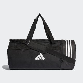 Convertible 3-Stripes Duffel Bag Medium Black / White / White CG1533