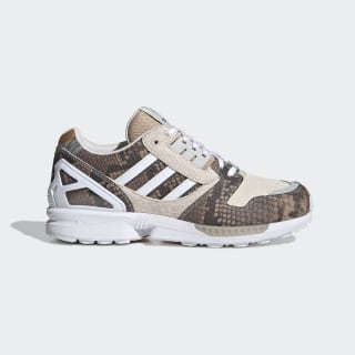 Кроссовки ZX 8000 Pale Nude / Chalk White / Solar Red FW2154