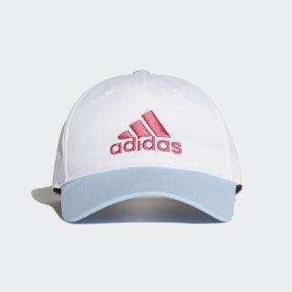 Gorra LK GRAPHIC CAP white/glow blue/REAL PINK S18 ED8631