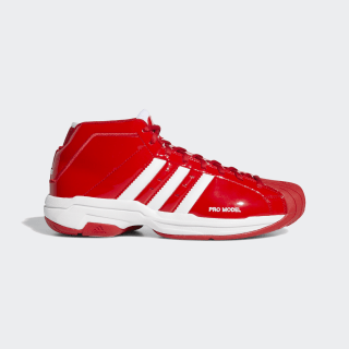 Баскетбольные кроссовки Pro Model 2G scarlet / ftwr white / scarlet EF9819