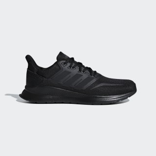 Tenis Run Falcon Core Black / Core Black / Core Black F36209