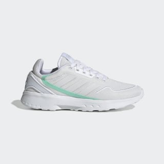 Nebzed Shoes Cloud White / Dash Grey / Bahia Mint EG3698
