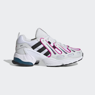 Chaussure EQT Gazelle Crystal White / Core Black / Shock Pink EE6486