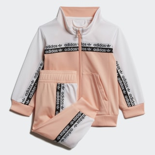 Agasalho Originals Glow Pink / White FM5733