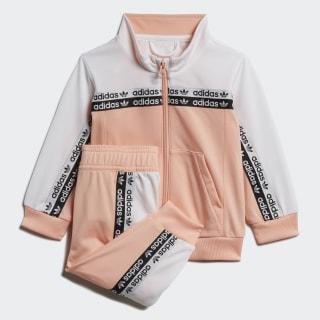 Joggingdragt Glow Pink / White FM5733