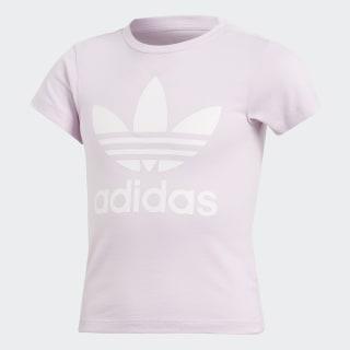Camiseta Trefoil AERO PINK S18/WHITE CD8440