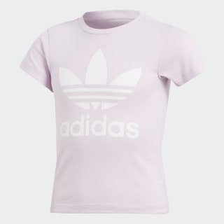 Playera Trifolio AERO PINK S18/WHITE CD8440