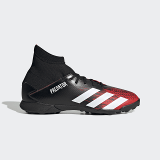 Calzado de Fútbol Predator 20.3 Pasto Sintético Core Black / Cloud White / Active Red EF1950