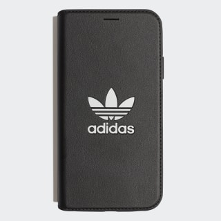 Coque à rabat iPhone 6.1 Black / White CL2323